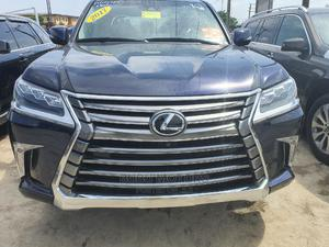 Lexus LX 2017 570 Base Blue | Cars for sale in Lagos State, Ikeja