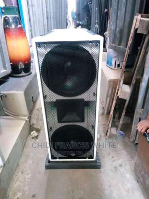 High Class Heavy Duty Double Speaker   Audio & Music Equipment for sale in Lagos State, Ojo