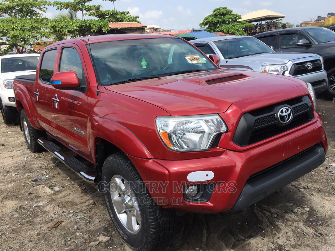 Archive: Toyota Tacoma 2014 Red