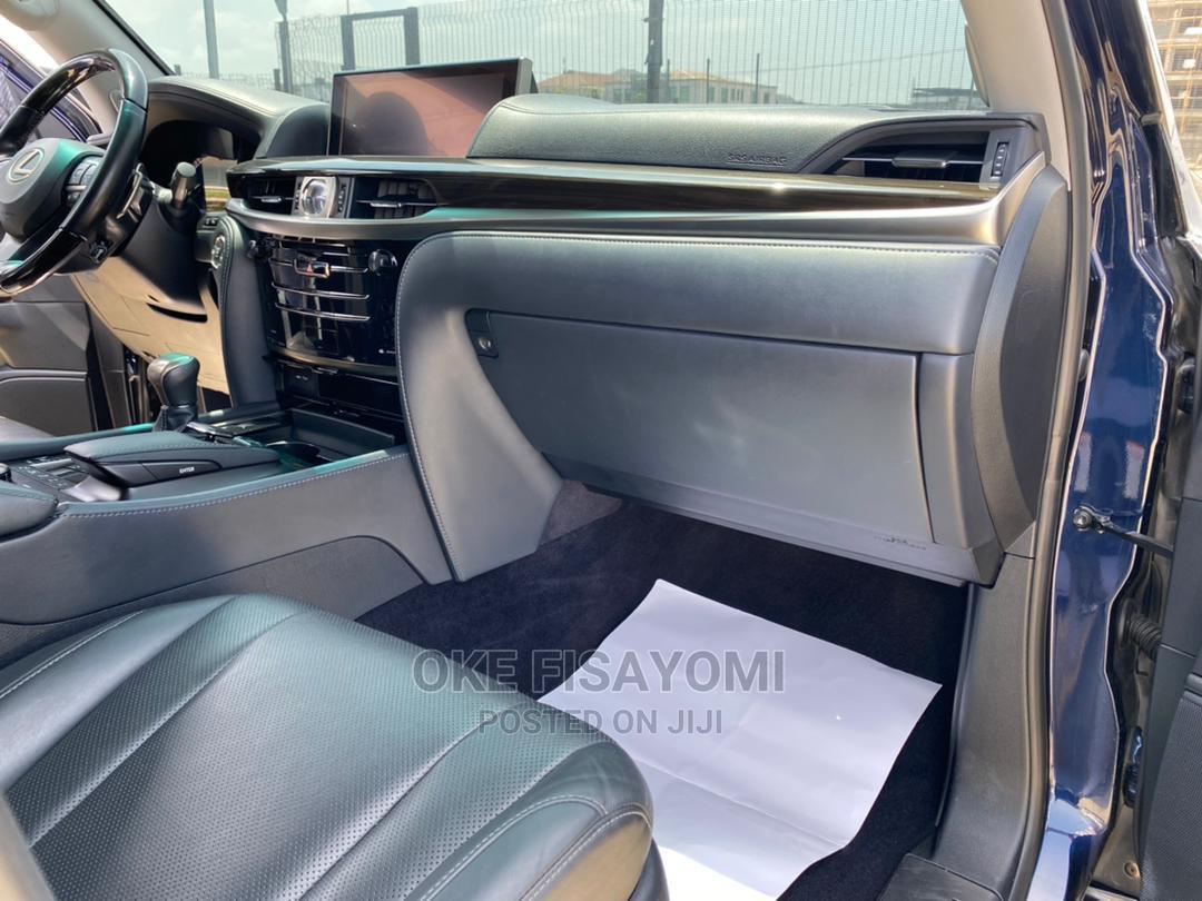 Lexus LX 2018 Blue   Cars for sale in Lekki, Lagos State, Nigeria
