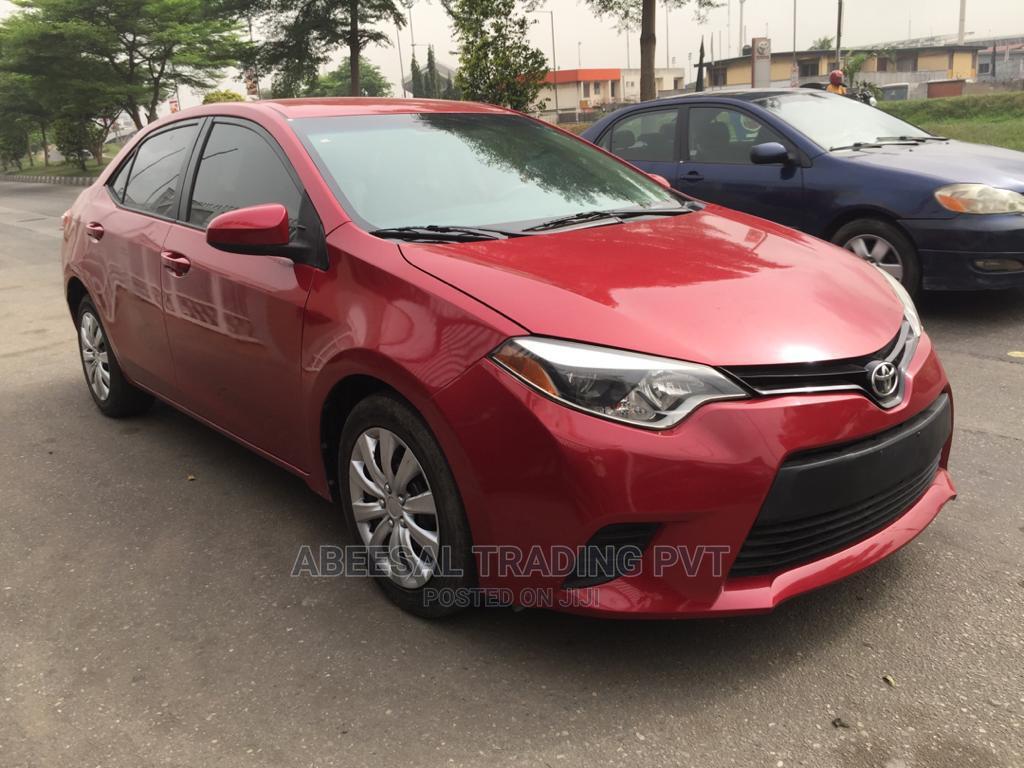 Toyota Corolla 2014 Red