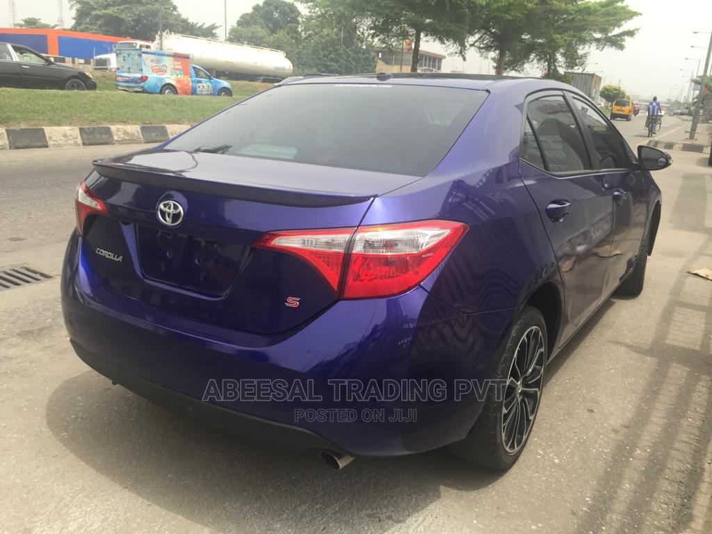 Toyota Corolla 2014 Blue | Cars for sale in Surulere, Lagos State, Nigeria