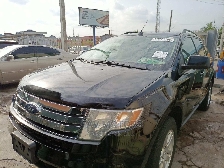 Ford Edge 2008 Black   Cars for sale in Ikeja, Lagos State, Nigeria