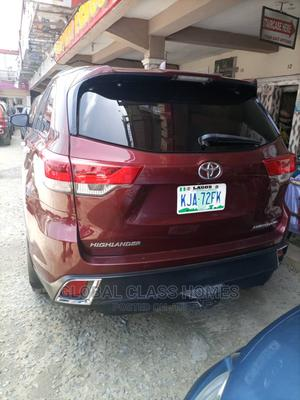 Toyota Highlander 2017 Red | Cars for sale in Lagos State, Ajah