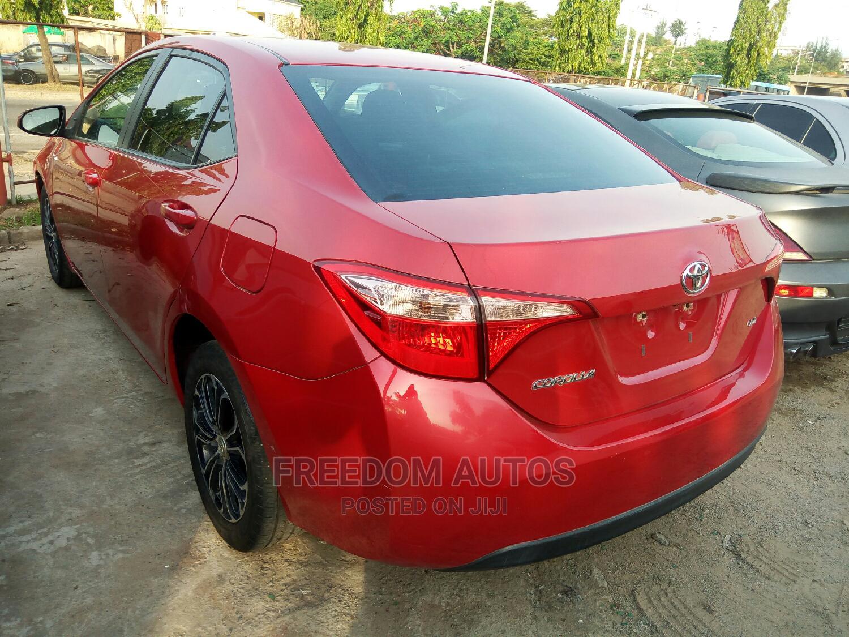 Toyota Corolla 2017 Red | Cars for sale in Asokoro, Abuja (FCT) State, Nigeria