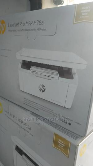 Hp Laserjet Pro MFP M28a   Printers & Scanners for sale in Lagos State, Ikeja