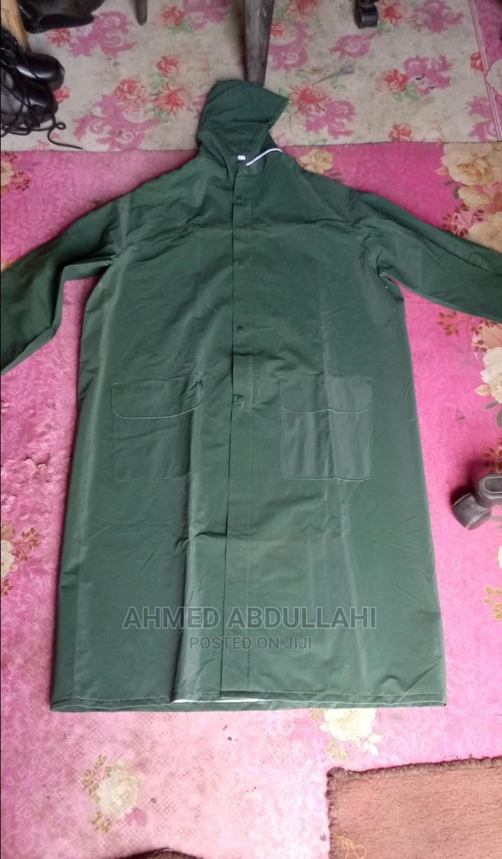 PVC Rain Coat Green