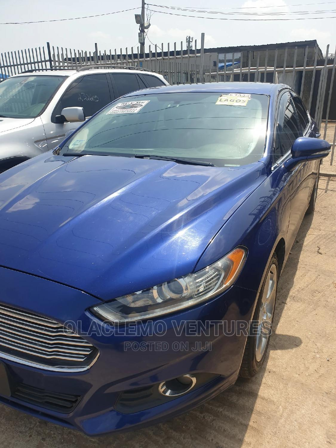Archive: Ford Fusion 2014 Blue