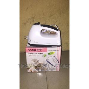 Scarlett New Super Hand Mixer   Kitchen Appliances for sale in Lagos State, Lagos Island (Eko)