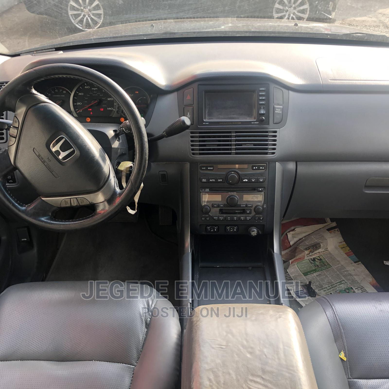 Honda Pilot 2006 EX 4x4 (3.5L 6cyl 5A) Black   Cars for sale in Ikeja, Lagos State, Nigeria