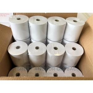 GM 80mm X 80mm Complete Roll Thermal Paper | Stationery for sale in Ondo State, Akure