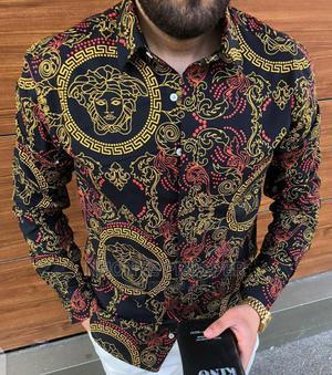 Versace Men Designer Shirt   Clothing for sale in Lagos State, Ojo