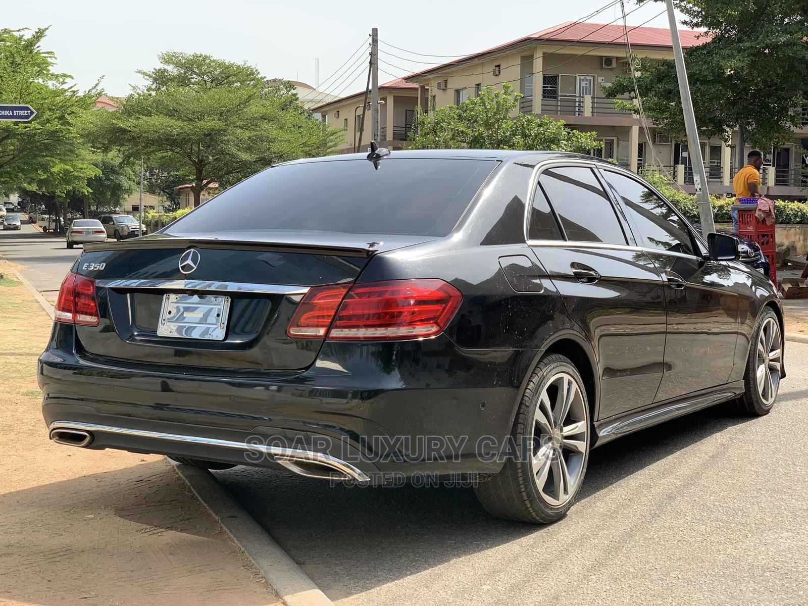 Mercedes-Benz E350 2015 Black | Cars for sale in Central Business Dis, Abuja (FCT) State, Nigeria
