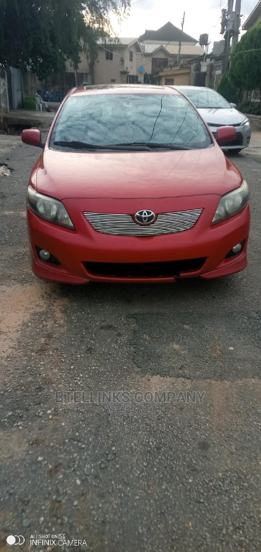 Toyota Corolla 2011 Red   Cars for sale in Ikeja, Lagos State, Nigeria