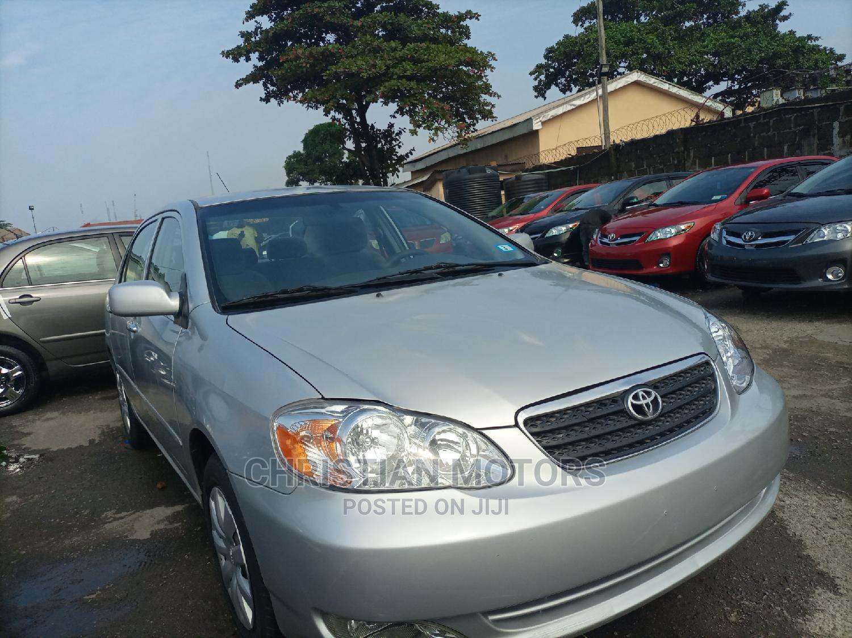 Toyota Corolla 2006 LE Silver   Cars for sale in Apapa, Lagos State, Nigeria