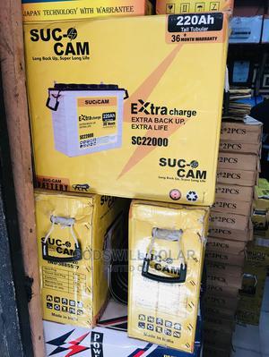 220ah Suc Cam Tall Tubular Battery   Solar Energy for sale in Lagos State, Badagry