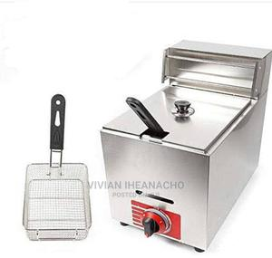 High Quality and Durable Single Basket Deep Fryer for Chips   Restaurant & Catering Equipment for sale in Lagos State, Ojo