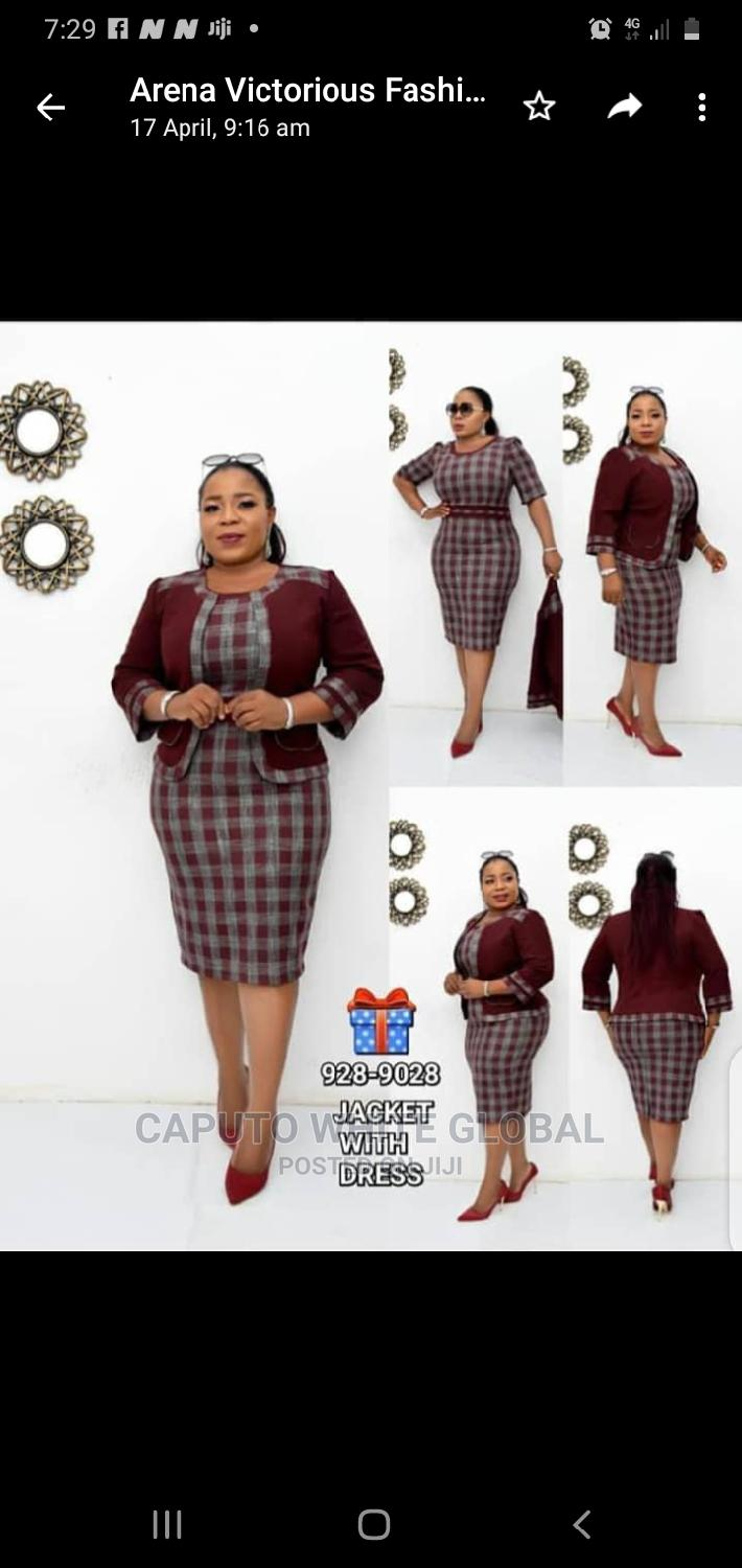 Exclusive Smart Female Corporate Gown