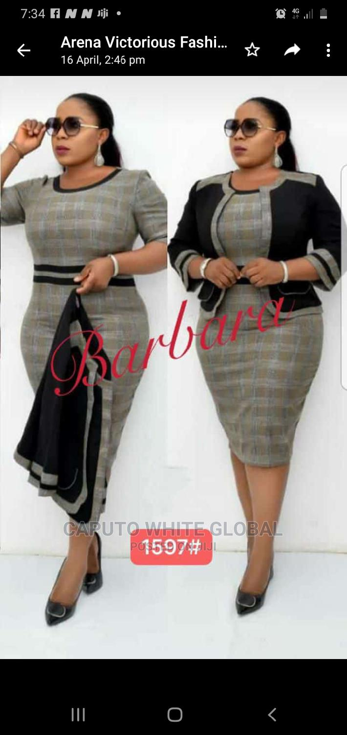 Exclusive Smart Female Corporate Gown   Clothing for sale in Ikeja, Lagos State, Nigeria