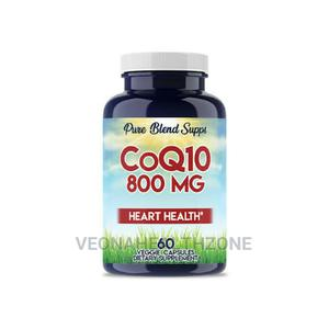 Pure Blend Supps Coq10 800mg | Vitamins & Supplements for sale in Lagos State, Ikoyi