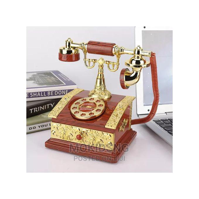 Retro Style Old-School Telephone Decor Photo Props | Arts & Crafts for sale in Ikoyi, Lagos State, Nigeria