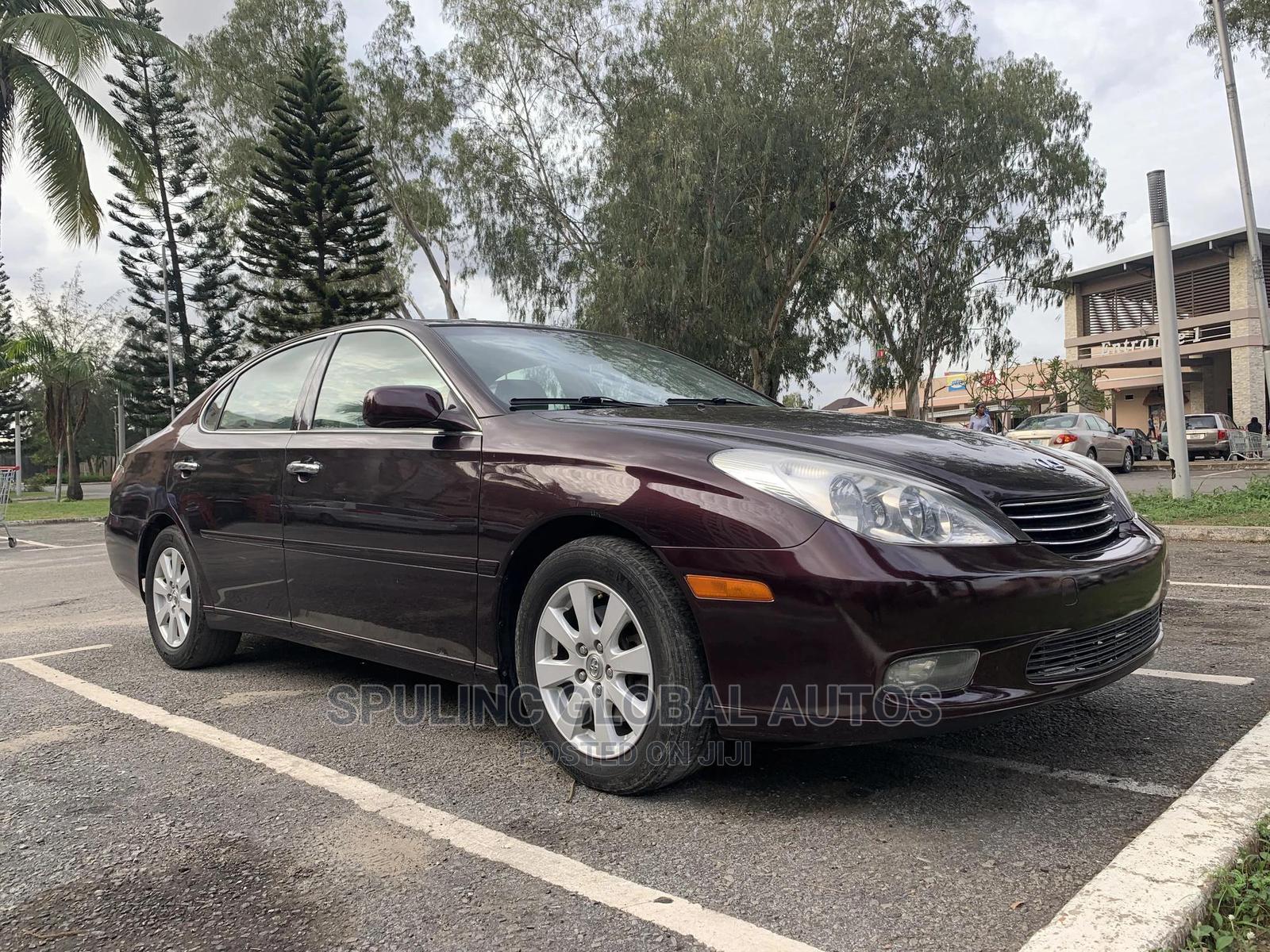 Lexus ES 2003 330 Purple