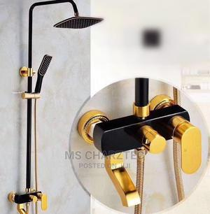 Black and Gold Standing Shower   Plumbing & Water Supply for sale in Lagos State, Amuwo-Odofin