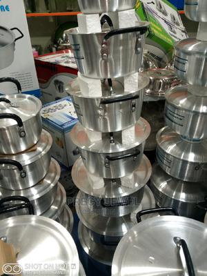 Quality K K 7pieces Set of Industrial Pot   Kitchen & Dining for sale in Lagos State, Ojo