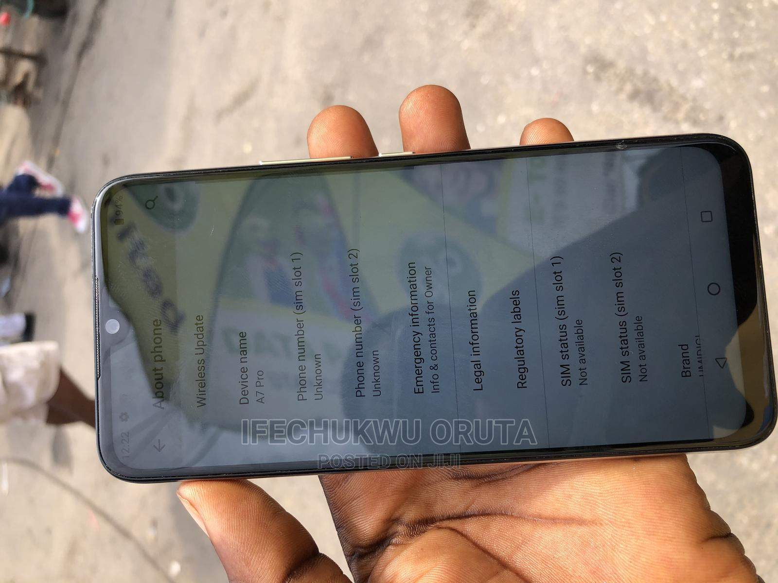 Umidigi A7 Pro 64 GB Blue | Mobile Phones for sale in Ikeja, Lagos State, Nigeria