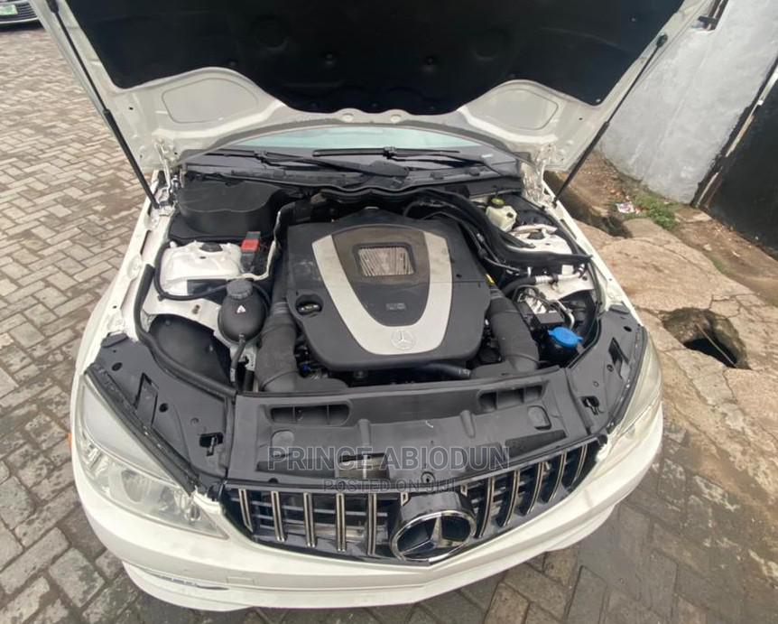 Mercedes-Benz C300 2010 White | Cars for sale in Surulere, Lagos State, Nigeria
