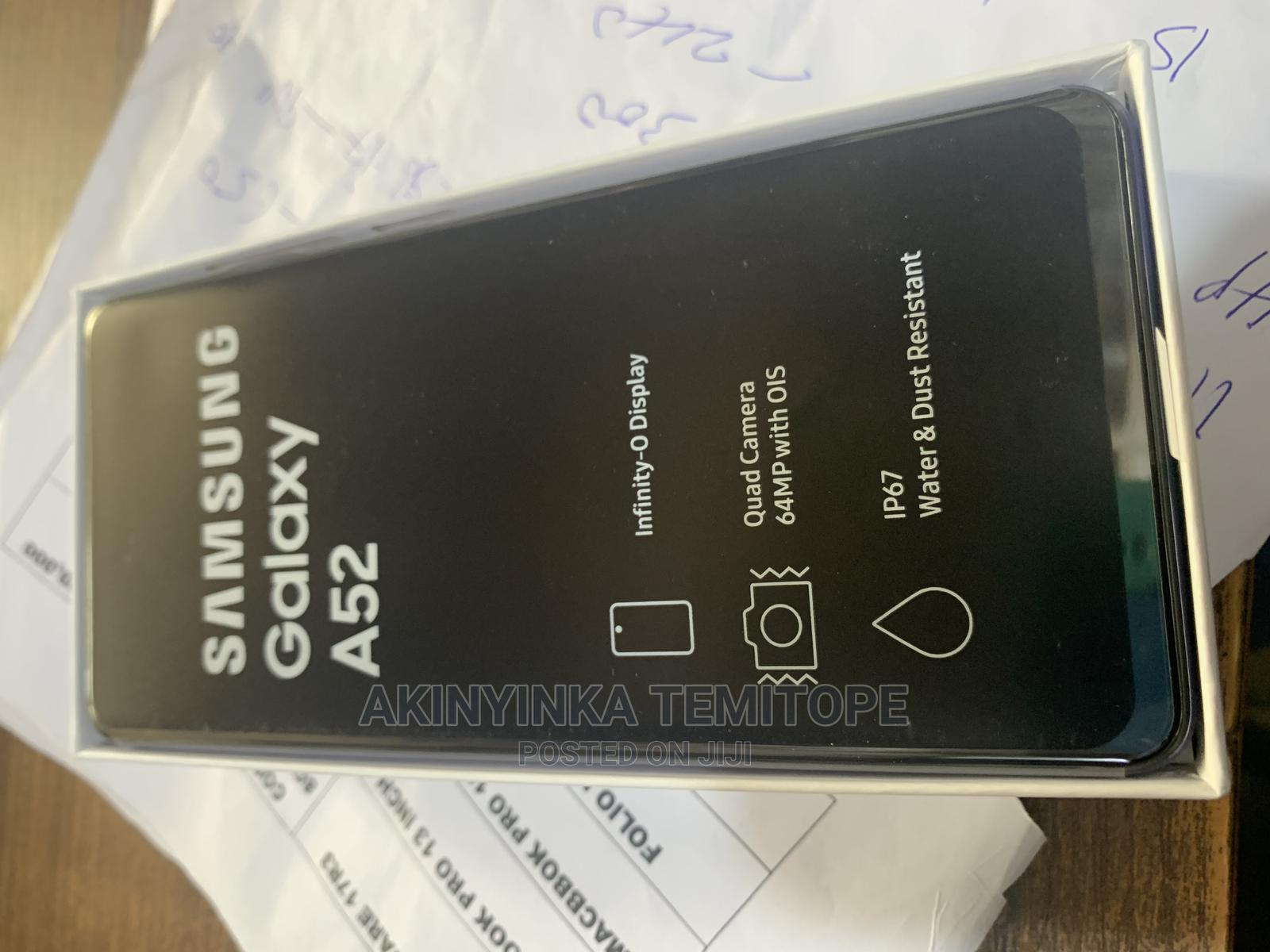 New Samsung Galaxy A52 128 GB   Mobile Phones for sale in Ikeja, Lagos State, Nigeria