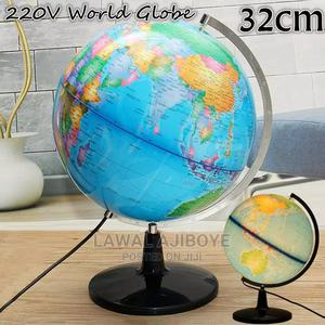32CM LED Globe Earth World Map Ball Lamp Lighting Office Hom   Stationery for sale in Lagos State, Lagos Island (Eko)