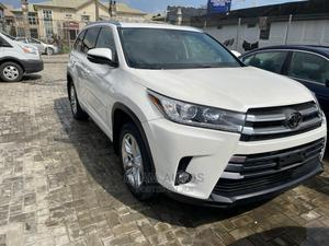 Toyota Highlander 2018 White   Cars for sale in Lagos State, Ajah
