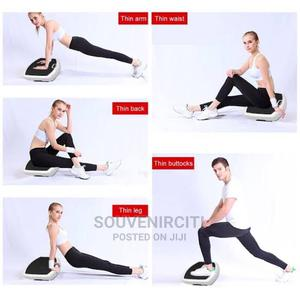 Massage Vibrating Platform Machine (Small)   Sports Equipment for sale in Lagos State, Surulere