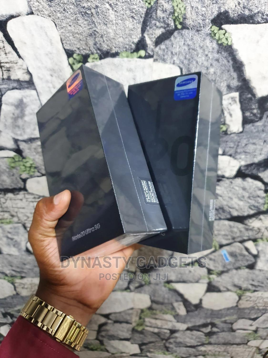 New Samsung Galaxy Note 20 Ultra 5G 128GB Black   Mobile Phones for sale in Ikeja, Lagos State, Nigeria