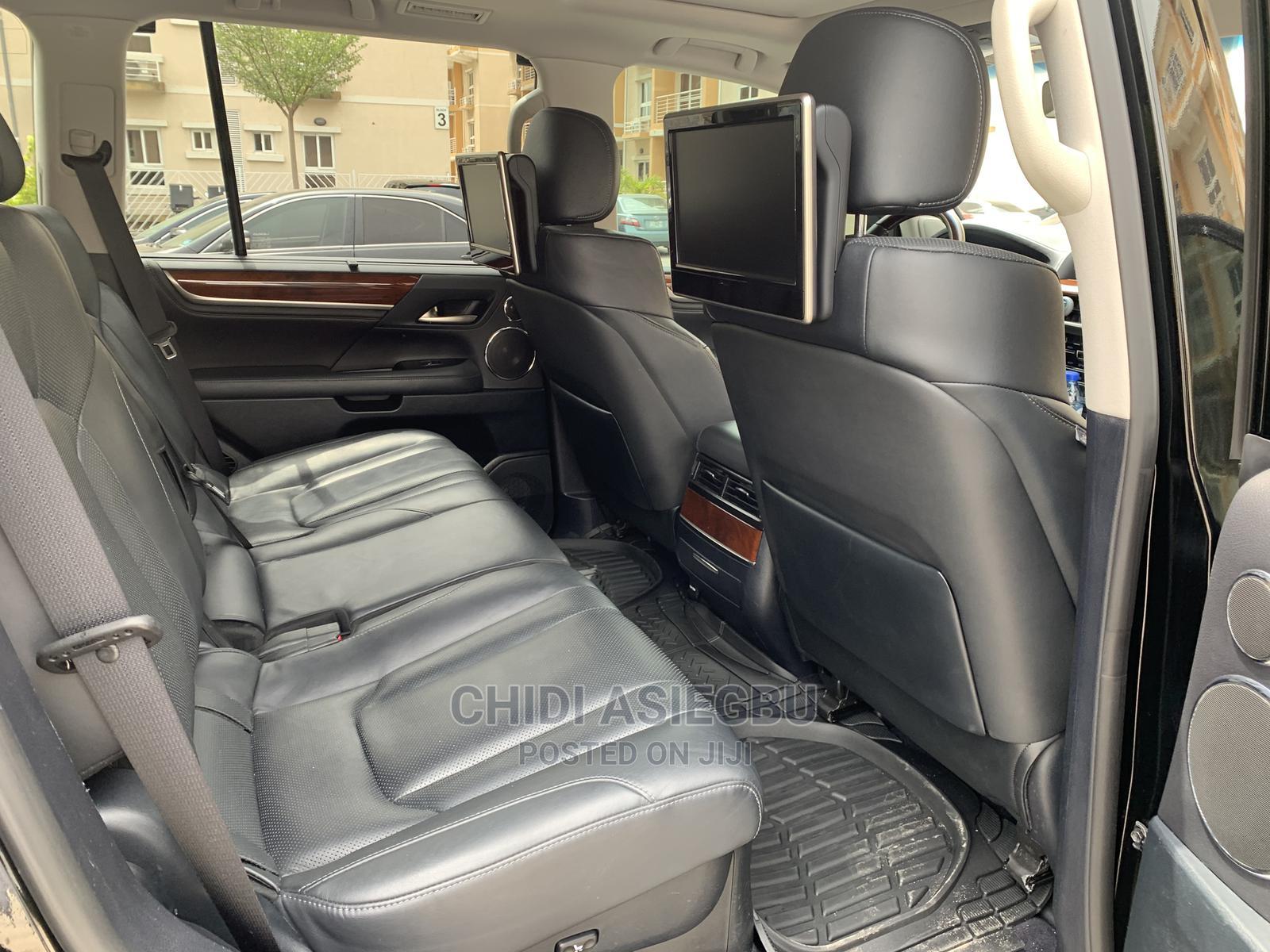Lexus LX 2017 570 Base Black | Cars for sale in Lekki, Lagos State, Nigeria