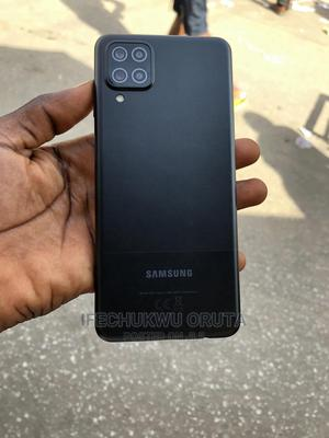 Samsung Galaxy A12 64 GB Black   Mobile Phones for sale in Lagos State, Ikeja