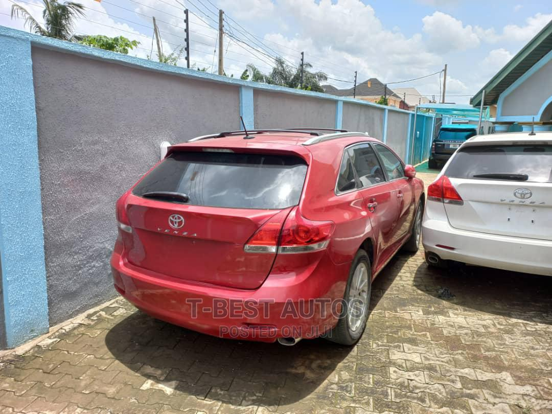 Toyota Venza 2010 Red | Cars for sale in Ikeja, Lagos State, Nigeria
