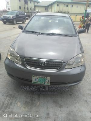 Toyota Corolla 2007 CE Gray   Cars for sale in Lagos State, Ajah