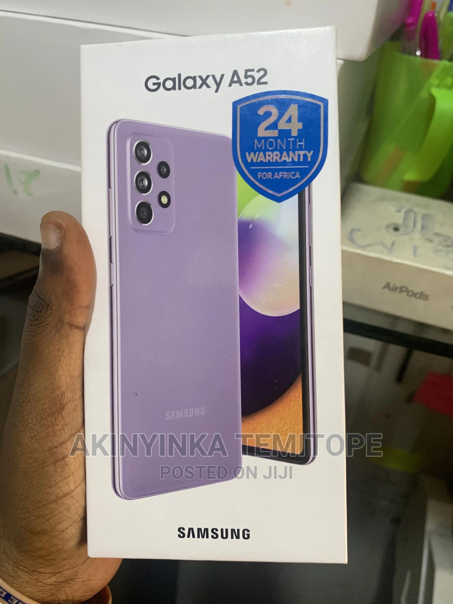 New Samsung Galaxy A52 128 GB