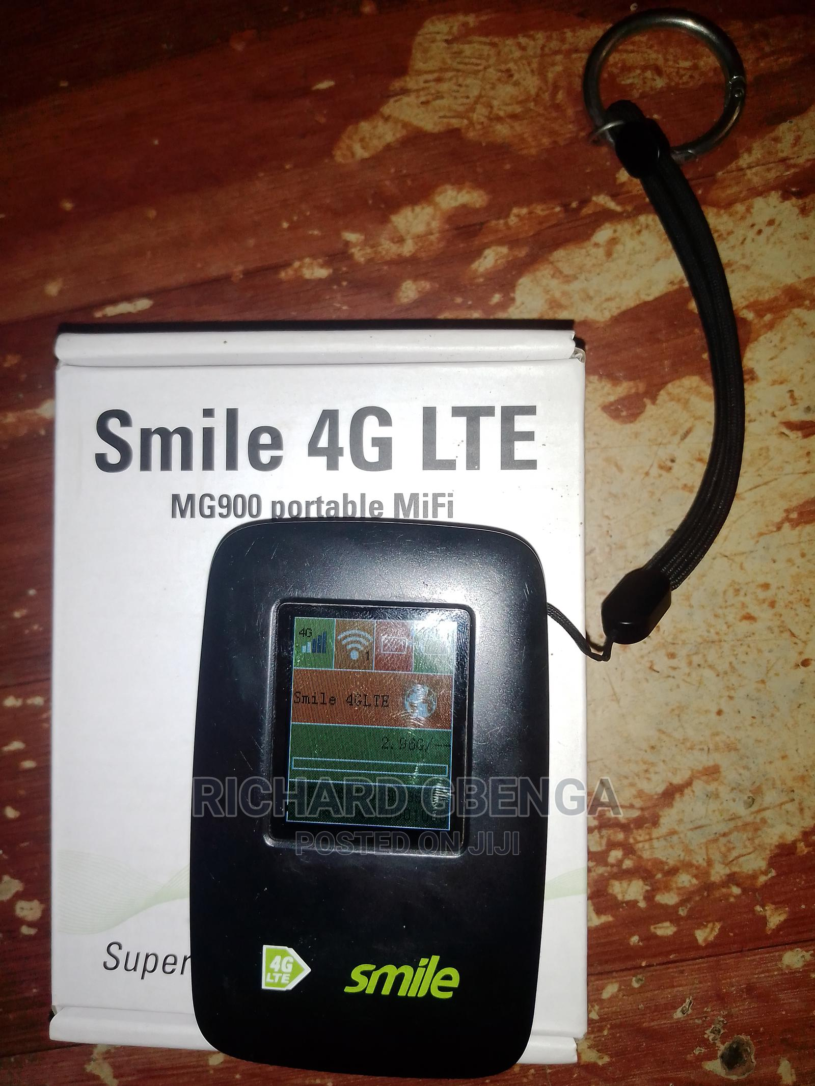 Archive: Smile 4g LTE Mg900 Portable Mifi