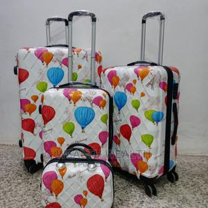 Abs Traveling Bags | 4 Wheels Trolley | 3 Set a Hand Bag | Bags for sale in Lagos State, Ikeja