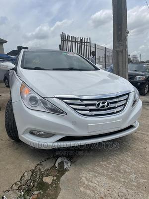 Hyundai Sonata 2012 White | Cars for sale in Lagos State, Ikeja