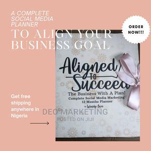 12 Months Social Media Marketing Planner   Books & Games for sale in Lagos State, Lekki
