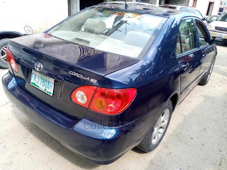 Archive: Toyota Corolla 2004 Sedan Automatic Blue