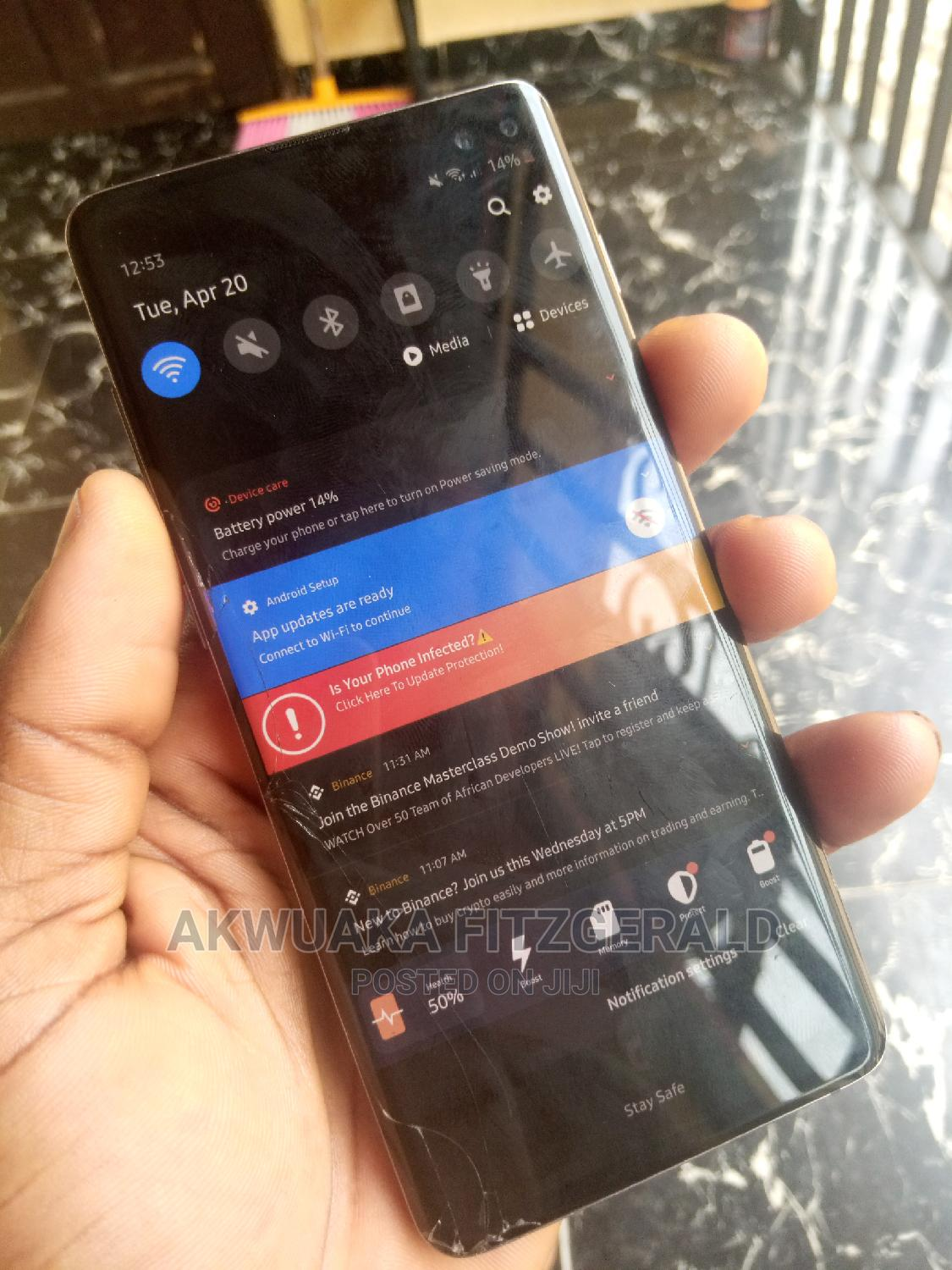 Samsung Galaxy S10 Plus 128 GB Gray | Mobile Phones for sale in Owerri, Imo State, Nigeria
