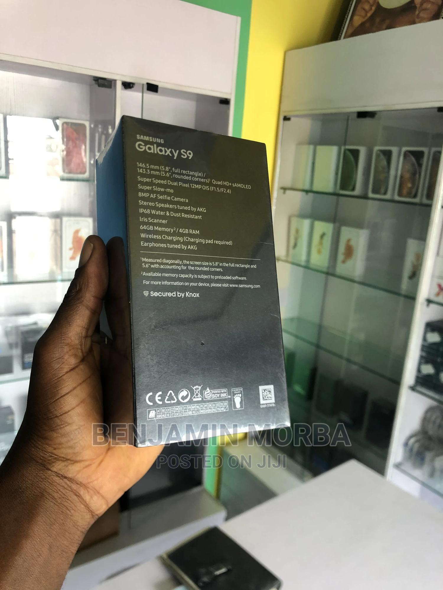 New Samsung Galaxy S9 64 GB Blue | Mobile Phones for sale in Port-Harcourt, Rivers State, Nigeria