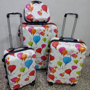Abs Plastic Luggages | 3 in 1 Set Trolley With a Hand Bag | Bags for sale in Lagos State, Ikeja
