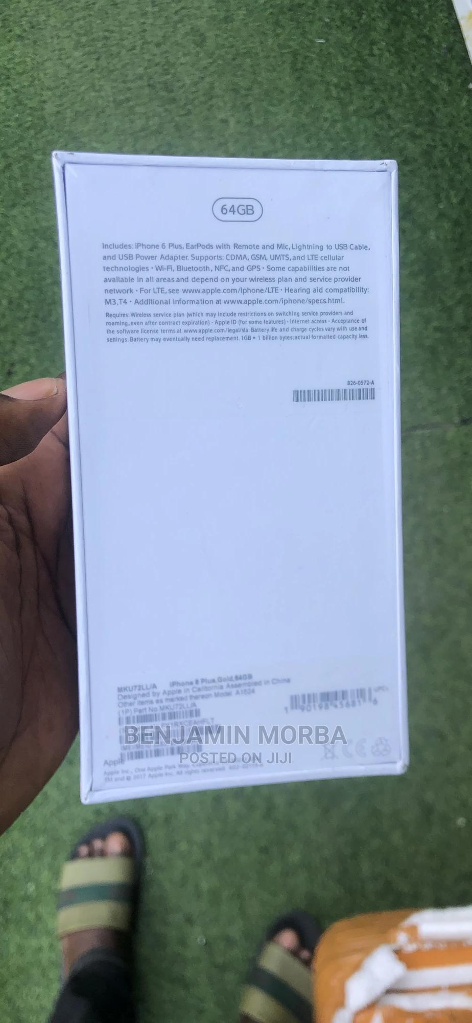 New Apple iPhone 6 Plus 64 GB Gold | Mobile Phones for sale in Port-Harcourt, Rivers State, Nigeria