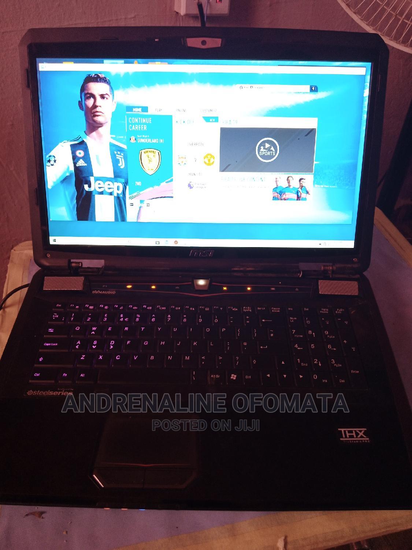Laptop MSI GT780DX 12GB Intel Core I7 SSHD (Hybrid) 500GB | Laptops & Computers for sale in Benin City, Edo State, Nigeria